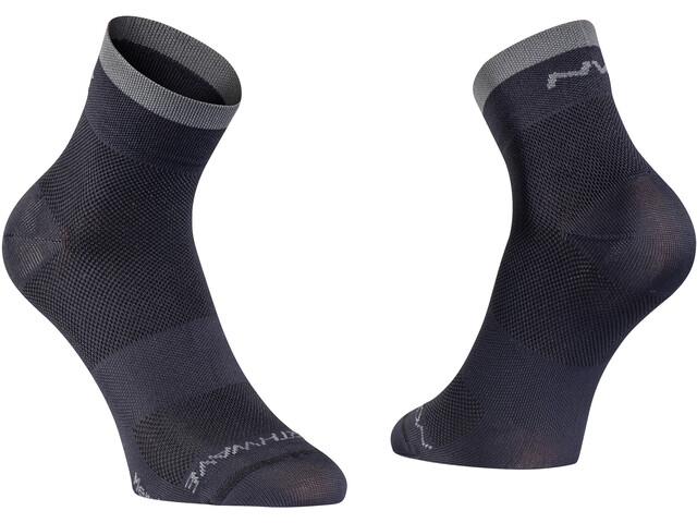 Northwave Origin Chaussettes hautes, black/dark grey